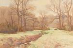 Артур Рэкхэм. Зима в лесу