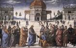 Пьетро Перуджино. Христос дает ключи