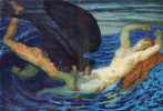 Franz von Pieces. The wind and the wave