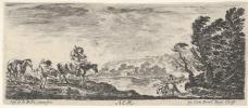 Stefano della Bella. Aer, Les quatre Eléments (Air from The Four Elements seires)