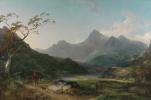 Вид на гору Сноудон с Кейпел Кериг
