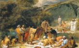 Александр Андреевич Иванов. Явление Христа народу (эскиз)