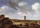 Саломон ван Рёйсдал. Вид Эгмонд-ан-Зее