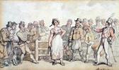 Томас Роуландсон. Продажа жены
