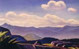 Рокуэлл Кент. Горный пейзаж