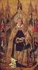 Св. Доминик на троне с семью главными добродетелями