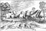 "Pieter Bruegel The Elder. The series ""Small landscapes"". Landscape # 27"
