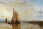 Джозеф Мэллорд Уильям Тёрнер. Дордрехт, корабль из Роттердама, идущий в штиль