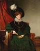 Portrait of Baroness Cecilia von eskeles, visitors experience. 1832