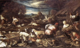 Якопо да Понте Бассано. Жертвы Ноя