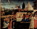 Центральный алтарь святых Косьмы и Дамиана из доминиканского монастыря Сан Марко во Флоренции, основание триптиха: Мученичество