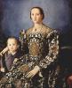 Portrait of Eleanor of Toledo with her son Giovanni