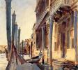 Гранд-канал, гондолы у причала. Венеция