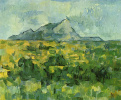 Mount Sainte Victoire mountain (the Mount of Saint Victoria)
