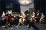 Иероним Франкен II. Притча о девах разумных и неразумных