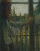Девочка возле окна