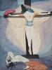 Woman on the cross