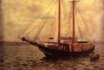 Томас Поллок Аншутц. На воде