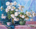 «Белые хризантемы»