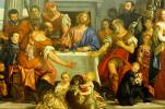 Dinner at Emmaus. Fragment