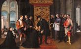 St. Francis Xavier says goodbye to king joão III