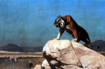 Жан-Леон Жером. Взгляд тигра