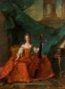 Мадам Генриетта Французская играет на контрабасе