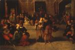 Франс Франкен Младший. Бал. 1620-е