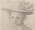 Self-portrait in childhood