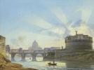 Вид замка Святого Ангела в Риме