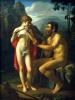 Фавн Марсий учит молодого Олимпия игре на свирели