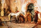 Фредерик Артур Бриджмен. Сцена в Марокко