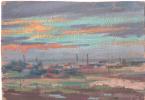 Arkady Pavlovich Laptev. The sky