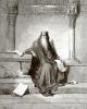 Иллюстрация к Библии: премудрый Соломон