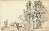 Ян ван Гойен. Романские руины