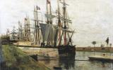 Alexey Petrovich Bogolyubov. Embankment in Saint-Valery