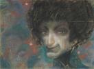 Женский портрет с одуванчиками