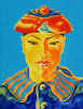 Siamese sailor in the national headdress. Oil on canvas, 50-40, 1980.
