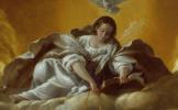 Джованни Бальоне (Баглионе). Аллегория примирения Милосердия и Правосудия. Фрагмент III