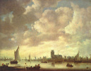 View of the Merwede by Dordrecht under