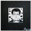Kazimir Malevich in his black square