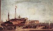 Франческо Гварди. Смотря на Сан-Джорджо Маджоре