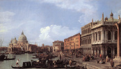 Giovanni Antonio Canal (Canaletto). Molo looking West