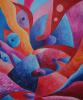 """The painting """"Waiting"""" Irina SHUMSKAYA"""