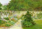 Arthur Hughes. Garden wall