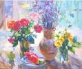 «Натюрморт с розами и арбузом»