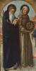 Saint Abbé Anthony and Saint Bernardino of Siena