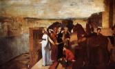 Эдгар Дега. Семирамида, строящая Вавилон
