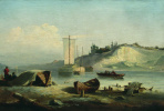 Лев Феликсович Лагорио. Берег реки. 1883