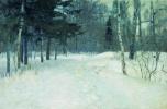 Станислав Юлианович Жуковский. Лес зимой